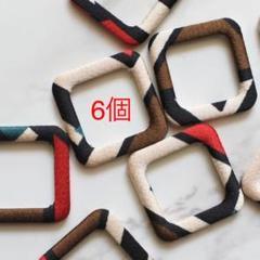 """Thumbnail of """"スクエアパーツリングA6個"""""""