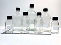 "Thumbnail of ""Weatonのネジ口ガラス瓶たち 7本★250mL~1L"""