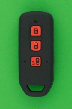 "Thumbnail of ""ホンダ・Nシリーズ・ 3ボタン・スマートキー用 シリコンカバーケース 黒色"""