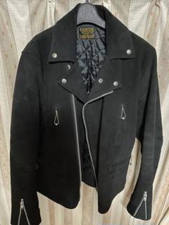 """Thumbnail of """"cootie 3rd St Suede Leather Jacket"""""""