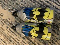 """Thumbnail of """"DCコミック バットマン&スーパーマン ステインレスボトル 2セット"""""""