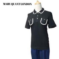 "Thumbnail of ""MARY QUANT LONDON ポロシャツ 日本製 M 黒 シンプル"""