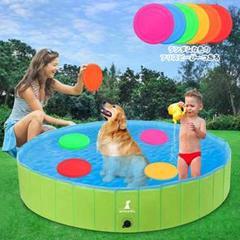 "Thumbnail of ""プール ペットバスプール ベビー用 ペット用犬 子供 猫 小型中型犬 120cm"""