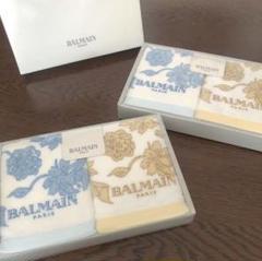 "Thumbnail of ""【BALMAIN】タオルセット 2箱 新品"""