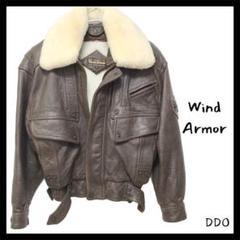 "Thumbnail of ""422 Wind Armor 美品 ブラウン ボア付 ラム ライダース"""