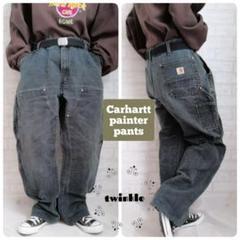 "Thumbnail of ""【大人気】Carhartt パッチロゴ ダブルニー ダック地 ペインターパンツ"""