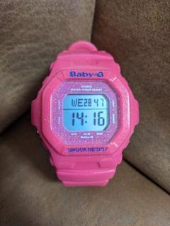 "Thumbnail of ""CASIO Baby-g 防水 腕時計 ラメピンク BG-5600GL"""