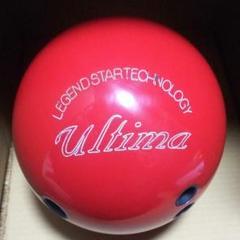 """Thumbnail of """"アルティマ・レッドソリッド、ドリル前15P、レジェンドスター、ボール、ボウリング"""""""