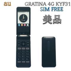 "Thumbnail of ""SIMフリー GRATINA 4G KYF31【au 京セラ】ブラック G103"""