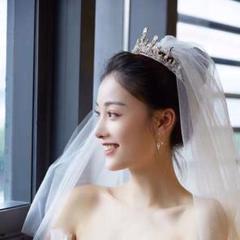 """Thumbnail of """"☆プリンセスティアラ ・ウェディングヘアアクセサリー ・髪飾り 結婚式"""""""