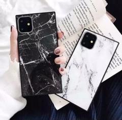 "Thumbnail of ""iPhone11ケース  大理石風 インスタ映え 可愛い ホワイト"""