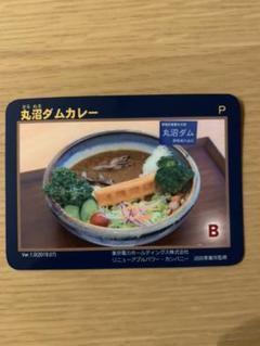 "Thumbnail of ""丸沼ダム ダムカレーカード ダムカード"""