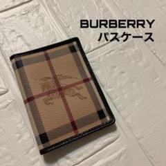 """Thumbnail of """"BURBERRY バーバリー パスケース 定期入れ ノバチェック ホースロゴ"""""""