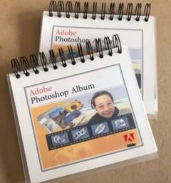 "Thumbnail of ""Adobe Photo shop Album 2冊セット ノベルティ"""