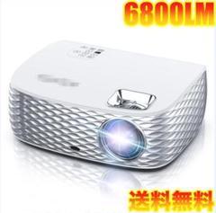 "Thumbnail of ""プロジェクター 6800LM 小型 スマホ 2K タッチスクリーン FireTV"""