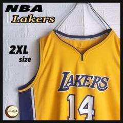 "Thumbnail of ""【フォロー割】NBA Lakers ゲームシャツ バスケ レイカーズ"""