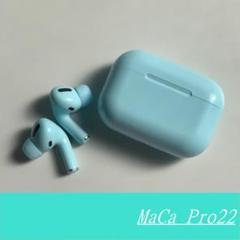 """Thumbnail of """"MaCa pro22 ワイヤレスイヤホン Bluetooth ブルー /"""""""