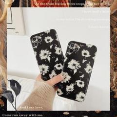 "Thumbnail of ""花柄 シンプル モノクロ iPhoneケース 可愛い 人気"""