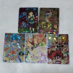 """Thumbnail of """"ドラゴンボールヒーローズ カード 5枚セット"""""""