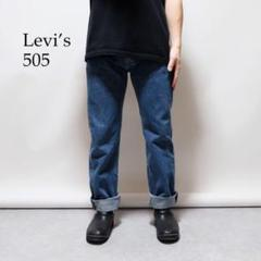 "Thumbnail of ""Levi's 505 ブルーウォッシュルーズバギーデニムパンツ"""