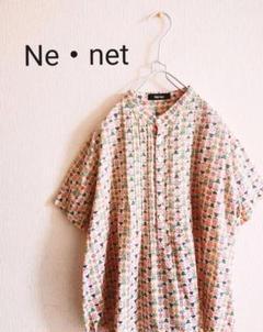 """Thumbnail of """"Ne・net 総柄 レトロ 半袖シャツ"""""""