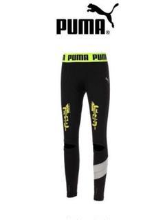 """Thumbnail of """"[新品] Puma スクランブル scRUNble ランニング ロングタイツ L"""""""