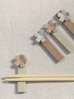 """Thumbnail of """"こも様 桜の箸置き2個セット"""""""
