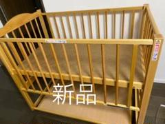 "Thumbnail of ""日本製 ベビーベッド 「ツースライドベッド」 ハイタイプ 石崎家具 SLEEPY"""