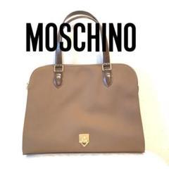 "Thumbnail of ""Moschino モスキーノ ハンドバッグ ベージュ ブラウン"""