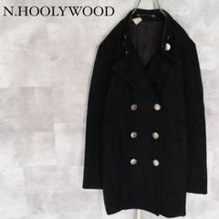 "Thumbnail of ""N.HOOLYWOOD  裏地総柄 メンズ ピーコート ダブル M相当"""