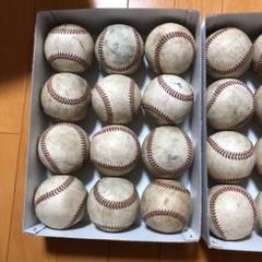 "Thumbnail of ""プロ野球使用球 硬式野球ボール 24球"""