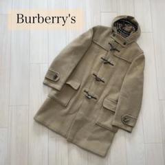 """Thumbnail of """"【高級】バーバリー Burberry ダッフルコート ノバチェック ベージュ"""""""