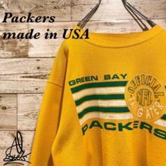 "Thumbnail of ""《USA製》アメリカスウェット M☆イエロー 黄色 Packers パッカーズ"""