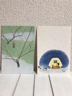 "Thumbnail of ""オリジナル年賀ハガキ 「春の雪」 谷内こうた"""