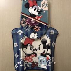 "Thumbnail of ""ミッキー ミニー トイレマット フタカバー セット Disney 洗浄暖房型"""