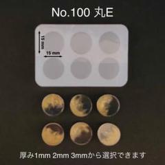 """Thumbnail of """"No.100 丸E コイン型シリコンモールド"""""""
