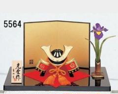 "Thumbnail of ""端午の節句を飾る★ 縁起の良い五月人形【錦彩 出世兜(花菖蒲付)】"""