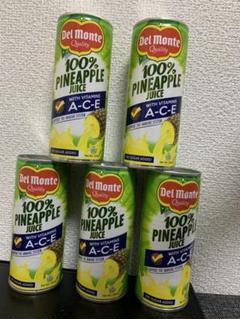 "Thumbnail of ""Pineapple Juice 240ml x 5cans パイナップルジュース"""