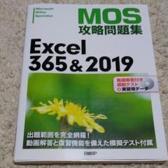 "Thumbnail of ""MOS攻略問題集 Excel365&2019"""