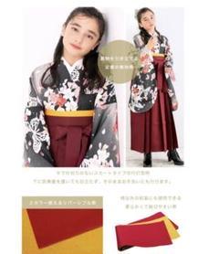 "Thumbnail of ""袴セット 髪飾り 5点セット ジュニア 小学生 卒業式 女の子 150センチ"""