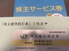 "Thumbnail of ""JR東日本株主優待"""