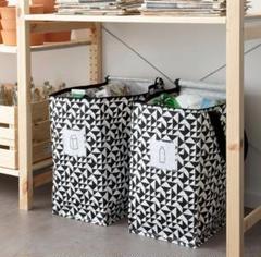 "Thumbnail of ""便利*☆イケア新品IKEA クナラ エコバッグ 収納 袋 トートバッグ♪大容量"""