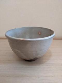 "Thumbnail of ""抹茶茶碗 ほんのりピンク 丸い模様"""