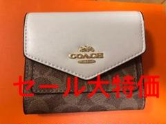 "Thumbnail of ""コーチ COACH  レザー  三つ折り財布 ミニ財布"""