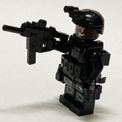 "Thumbnail of ""LEGO レゴ 互換 SWAT 兵士 銃付き F"""