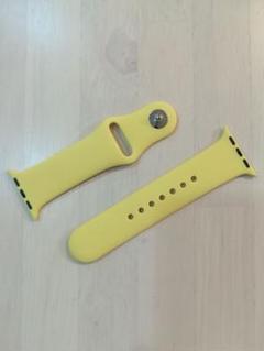 "Thumbnail of ""42/44mm Apple watch用スポーツベルト イエロー 新品送料無料"""