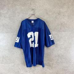 "Thumbnail of ""NFL Reebok NY ""BARBAR"" アメフト ゲームシャツ 21番"""