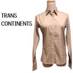 """Thumbnail of """"美品 TRANS CONTINENTS トランスコンチネンツ シャツ グレー"""""""