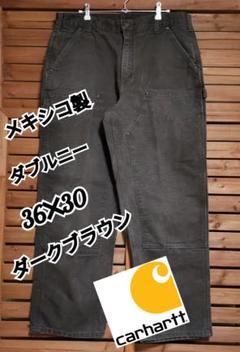 "Thumbnail of ""アメリカ直輸入Carharttダックワークペインターパンツ ダブルニー36✕30"""