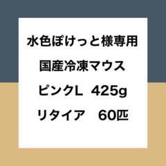 "Thumbnail of ""【水色ぽけっと様専用】国産冷凍マウス ピンクL、リタイア B品"""